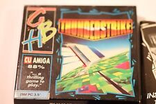 RARE 3.5 DISK IBM  PC GAME THUNDERSTRIKE  By GBH