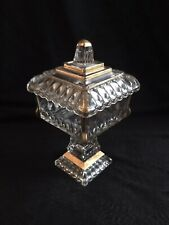 Jeanette Glass Wedding Box,  Candy Dish