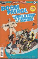 Doom Patrol Justice League of America #1 Milk Wars DC Comic 1st Print 2018 NM