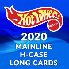 HOT WHEELS 2020 MAINLINE H CASE LONG CARDS - Pick and choose!!