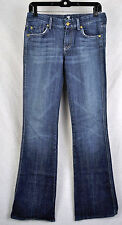 7 Seven For All Mankind A Pocket Caribbean Blue Jeans 26 USA Womens