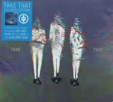 TAKE THAT - III (2015 Edition) - CD / DVD Set *NEW & SEALED*