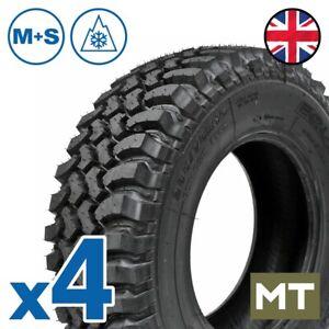 X4 235/75 R15 DAKAR Tires tread copy 115Q 4x4 Mud Terrain MT Offroad M+S 3PMSF