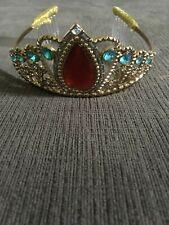 Disney Authentic Elena of  Avalor Princess Costume Crown Tiara Headband Dress Up