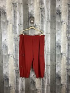 Zenergy by Chicos Red Cargo Pants Size 3