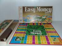 Milton Bradley Easy Money Board Game Vintage 1974