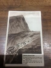 Vtg Postcard HORSE & Carriages People Honister Pass & Crag Lake District Cumbria
