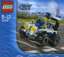 Lego City Police Atv 30228 Neuf Emballé