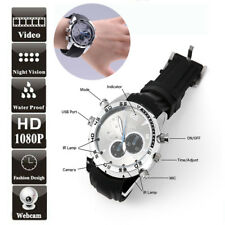 16GB Spy Wrist Watch 1080P IR Night Vision Hidden video Camera Waterproof DVR