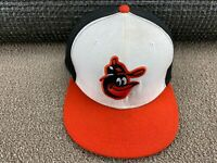 Baltimore Orioles Hat New Era Fitted 7 1/8 59Fifty Cap Orange Baseball jersey