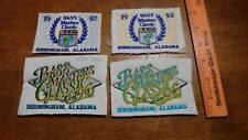 BASS  MASTERS BIRMINGHAM ALABAMA   FISHING DERBY ROD AND GUN C  PATCH BX H#66
