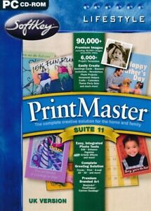 Printmaster Suite v11 - Creative Publishing DTP PC CD-ROM Software - Brand New