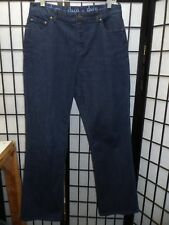 "D & Co Straight Leg Blue Jeans Size 12 Inseam 31""  FREE SHIPPING  Z104"