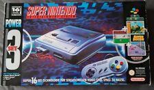 Super nintendo Snes Ovp Power Set Mit 3 Spielen