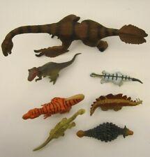 Lot of 7 Prehistoric Dinosaurs Discovery Kids Jakks Disney Unbranded Ankylosauru
