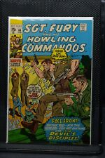 Sgt Fury and His Howling Commandos #84 Marvel Comic 1971 Stan Lee Dick Ayers 7.5