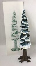 Dept. 56 Pole Pine Tree w Base Christmas Village Accessory 55298 10.5""