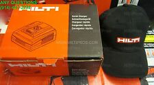 Hilti C 4/36 Lithium-Ion Battery Charger W/ Free Hilti Hat, Brand New, Fast Ship