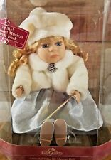 Gift Gallery Animated Wind Up Musical Porcelain Doll Mackenzie New In Box Nos