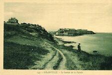 Carte GRANVILLE le Sentier de la Falaise