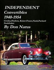 CONVERTIBLES BOOK INDEPENDENT NARUS PACKARD STUDEBAKER HUDSON NASH KAISER FRAZER