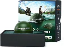 Deeper Chirp+ Smart Sonar Fishfinder Military Green with Gps User-Friendly App