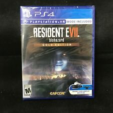 Resident Evil 7 biohazard Gold Edition (PlayStation 4) BRAND NEW / Region Free