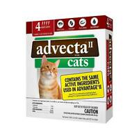 Advecta II Flea Treatment Cats over 9 lbs, Flea Prevention 4 Month EPA/USA 😽🐈