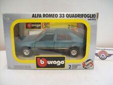 Alfa Romeo 33 Quadrifoglio, 1983, Blue met., Bburago 1:24 (Made in Italy), OVP