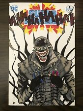 Super Powers #1 Original Sketch Cover Art The Batman Who Laughs