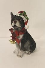 Decorazione Natalizia Natale Carino Glitter BOSTON TERRIER DOG Ornamento PAPILLON vendita