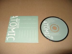 Blondie Atomic Remix (Diddy's Edit)Promo card Sleeve cd 1994 cd Ex Condition