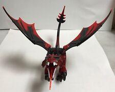 RED DRAGON KINGDOMS, FANTASY ERA ANIMAL FIREBREATHING LEGO MINIFIGURE