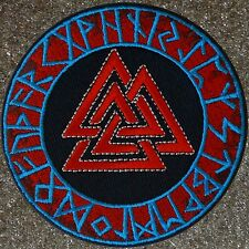 ZOMBIE HUNTER TACTICAL: VALKNUT VIKING WARRIOR RUNE PATCH W VELCRO®~ RAGNAR