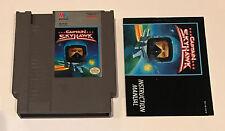 Captain Skyhawk - 1989 NES Nintendo Cartridge w/ Manual
