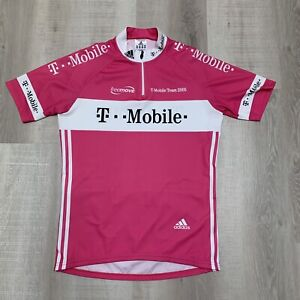 T-Mobile Team 2005 Cycling Jersey Jan Ullrich, Men's M but fits as a Large