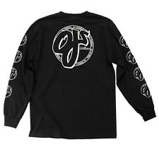 Santa Cruz Oj Cross Long Sleeve Skateboard Shirt Black Medium