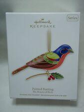 2012 Hallmark Keepsake Ornament Painted Bunting Beauty Of The Birds #8