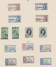 British Honduras 1938 part set 9/12  Mounted Mint Cat £49 +  Nice copies