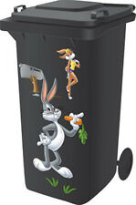 Looney Tunes Wheelie Bin Sticker Kit - Bugs Bunny