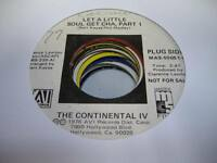 HEAR! Northern Soul Rare 45 THE CONTIENTAL IV Let a Little Soul Get Chan on Avi