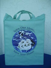 Wholesale lot 100 Polar Bear grocery/shopping tote bags