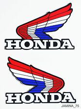 Honda XL70 XL75 XL80 XL100 XL125 XL175 Z50 Fuel Gas Tank Decal Sticker Wing Pair