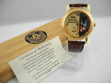 1994 DISNEY CONVENTION MICKEY MOUSE SORCERER LIMITED ED Watch NEW IN WOOD BOX