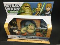 Star Wars Galactic Heroes JABBA'S PALACE RESCUE Playset Jabba Han Carbonite +++