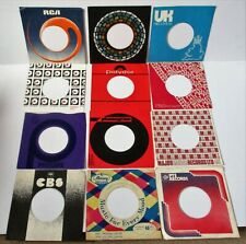 12 VINTAGE 45 RPM ORIGINAL COMPANY SLEEVES MERCURY CBS PHILIPS PYE   ETC 60s/70s
