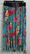 Me 2 Magic Woman Plus 1X Bohemian Floral Maxi Skirt NWT