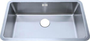 793x461mm Undermount Brushed Stainless Steel Large Bowl Kitchen Sink A04bs