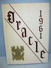 1961 Oracle Edward Little High School, Auburn, Maine Yearbook
