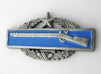 ARMY COMBAT INFANTRY BADGE CIB 2ND AWARD LAPEL PIN 1.8 INCHES